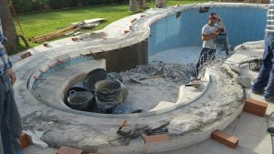 Building pool walls