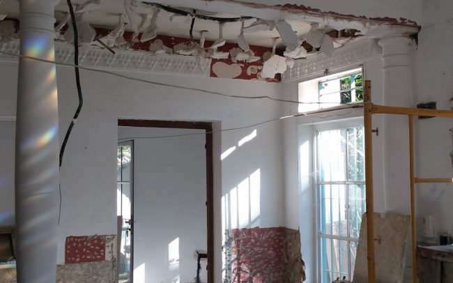 Interior villa renovation