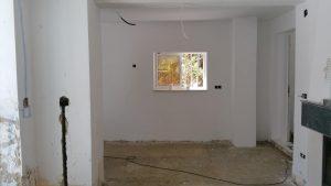 builders installing new windows