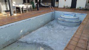 making pool less deep