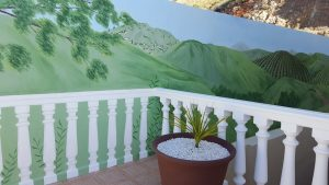 Decorative exterior Mural, Mijas