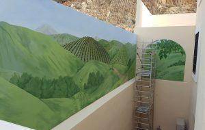 Mural painting, Estepona