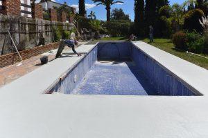 Pool repairs, Marbella