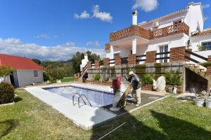 Pool & Villa reform, Marbella