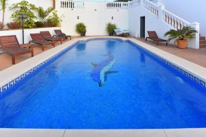 Swimming pool renovation, Mijas