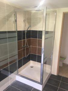 Tiling shower room, Marbella