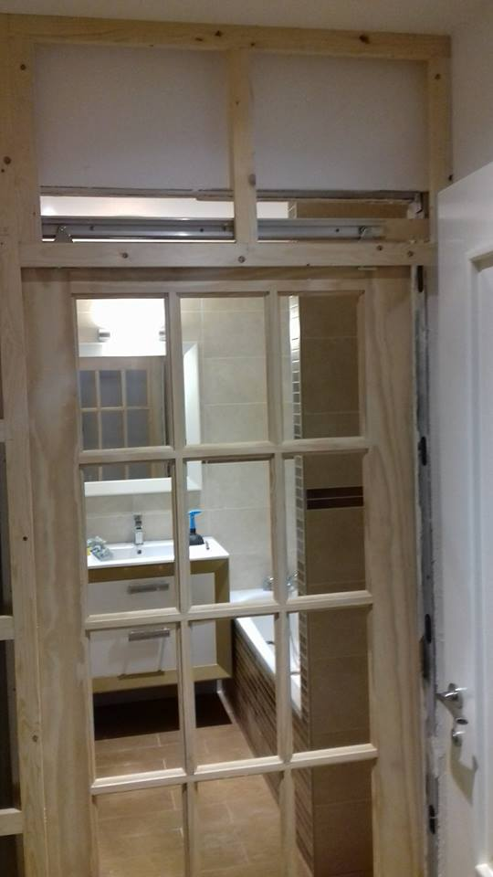 Installation sliding door