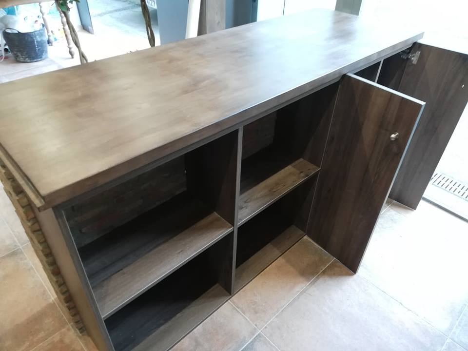 Bar Unit, custom made