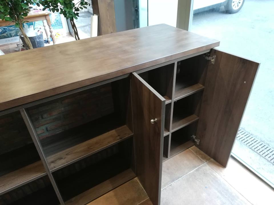 Carpenter built bar unit