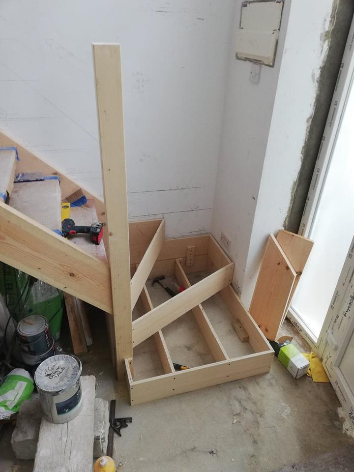 Custom carpentry project