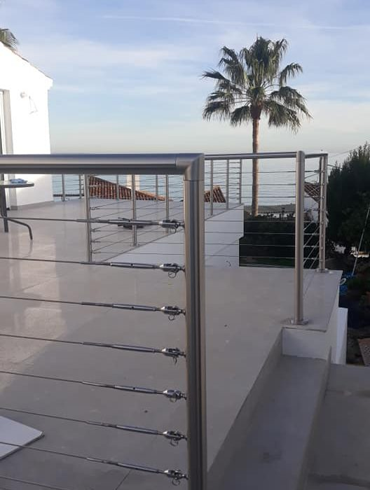 Stainless Balustrade, Marbella