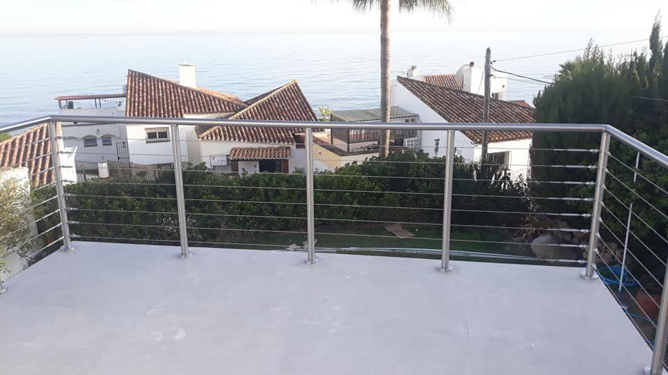 Post and Cable Railings, Marbella