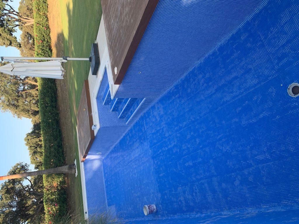 Refurbishment of a pool, San Roque