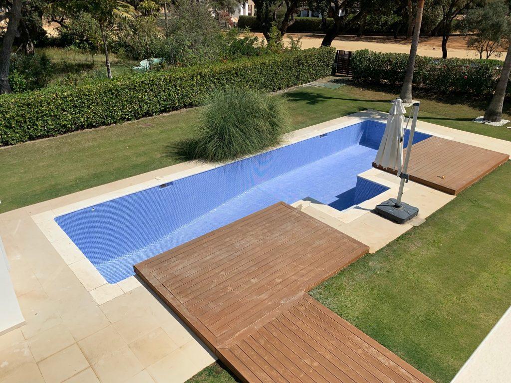 Swimming Pool Refurb, San Roque Club